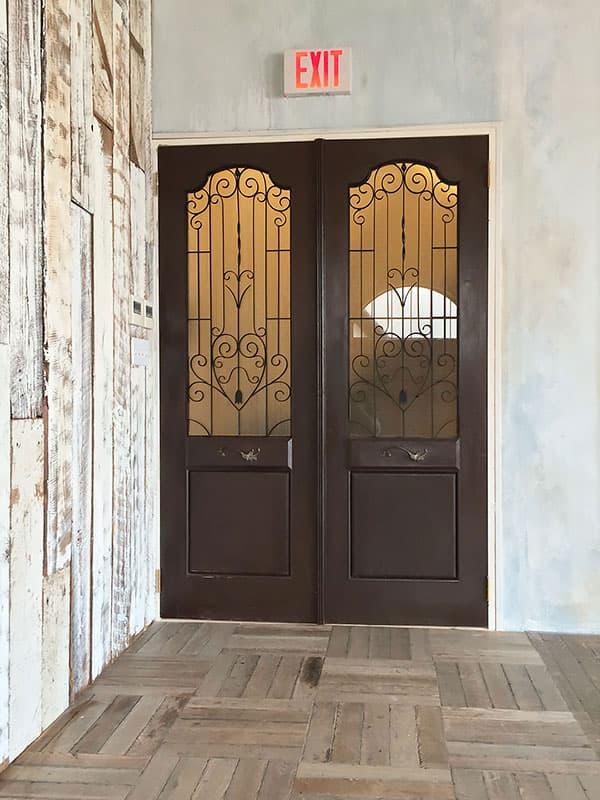 ドアの製作例