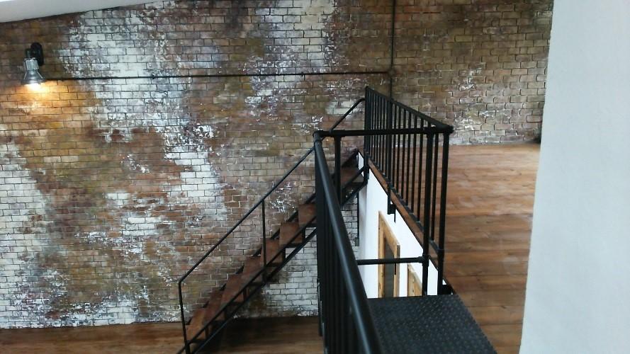 アイアン製 スケルトン階段 画像3